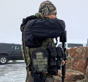 Pic of Pacific Patriot Network militiaman. Credit: Mark Graves, The Oregonian.