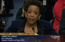 Loretta Lynch, via C-Span screengrab