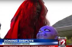 zombie baby jesus, via CBS Local 12 in Cincinnati