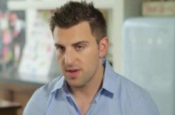 Airbnb CEO Brian Chesky via TIME screengrab