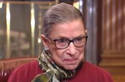 Ruth Bader Ginsberg screengrab via Bloomberg