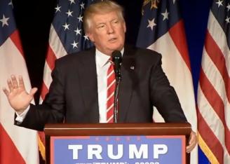 Trump screengrab via YouTube