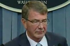 Secretary of Defense Ash Carter via DOD screengrab
