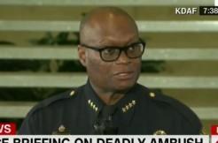 Dallas Police Chief David Brown via CNN screengrab