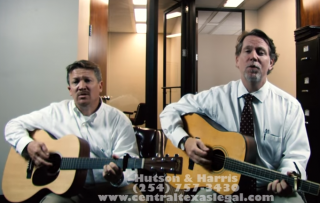 Image of Will Hutson and Chris Harris via screengrab from Hutson & Harris, Attorneys YouTube channel