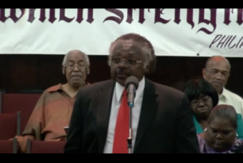 Rev. John Modest Miles via screengrab