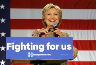 Image of Hillary Clinton via Joseph Sohm/Shutterstock