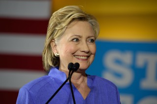 Clinton via shutterstock