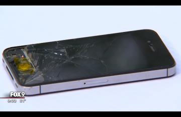 Anderson iPhone via screengrab