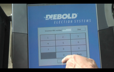 digital ballot via I Voted? screengrab
