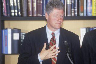 Bill Clinton via Joseph Sohm/Shutterstock