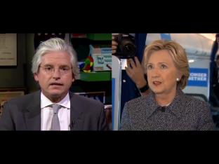 Clinton and Brock via screengrab