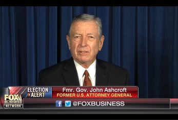 Attorney General John Ashcroft via screengrab