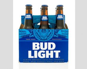 Bud Light via shutterstock