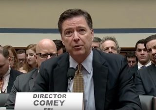 James Comey via screengrab