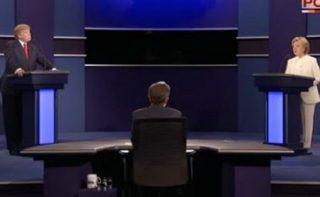Image of debate via screengrab