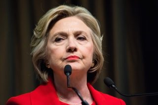 Hillary Clinton via Evan El-Amin/Shutterstock