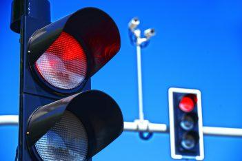 red light camera via monticello/shutterstock