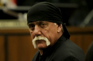 Hulk Hogan (Pool Photo)