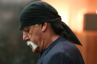 Hulk Hogan profile shot (Pool Photo)