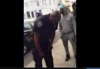 NYPD detective rolls dice via screengrab