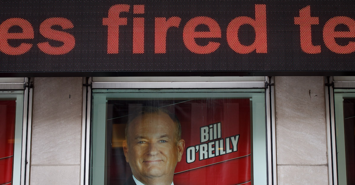 Bill O'Reilly settlement harassment Fox News
