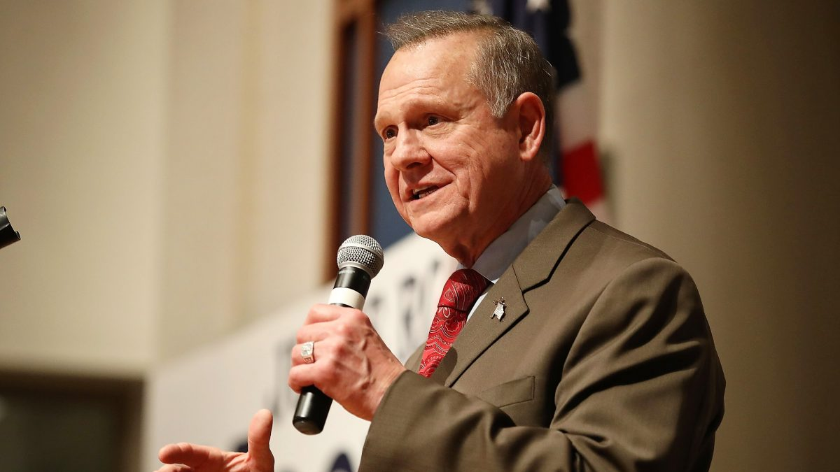 Alabama GOP Senate Candidate Roy Moore Holds Election Night Party, Judge