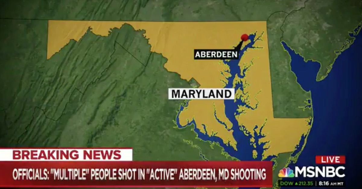Maryland shooting