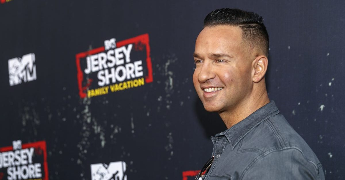 Mike The Situation Sorrentino Sentenced for Tax Evasion