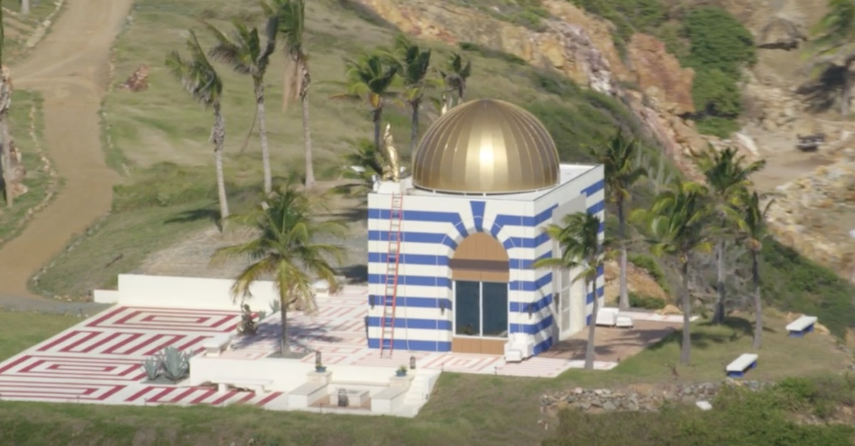 Jeffrey Epstein temple