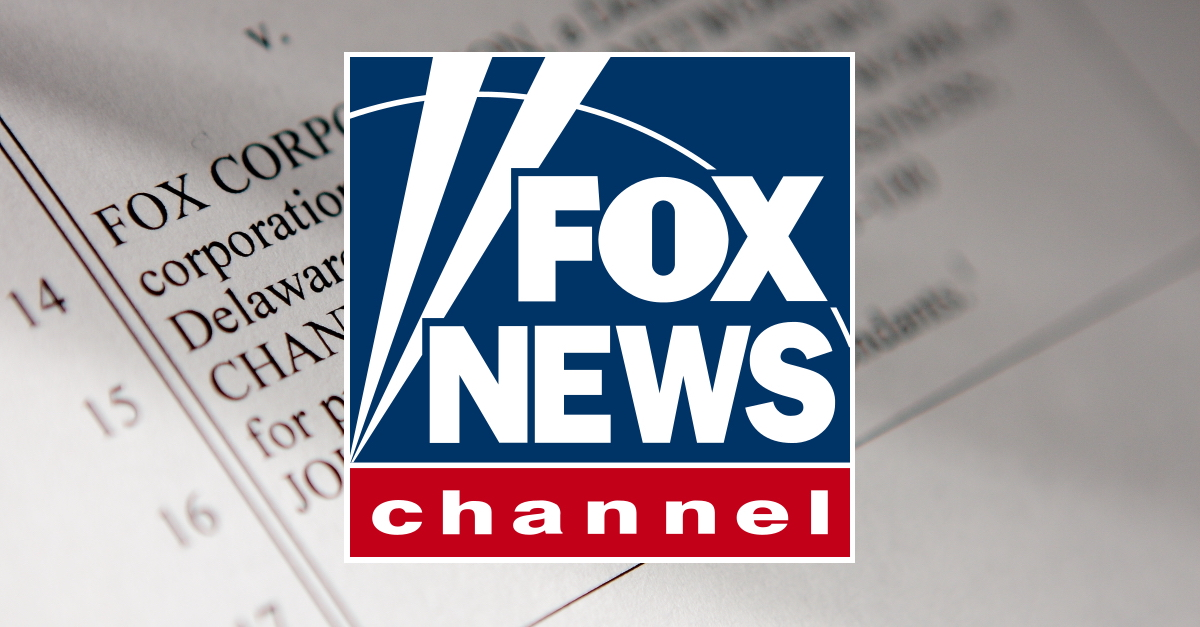 Fox News Channel, Fox News, Litigation, Lawsuit, Court, Document