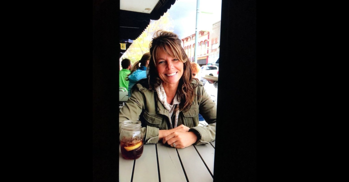 Suzanne Morphew is seen in an image provided by the Chaffee County, Colo. Sheriff's Office.