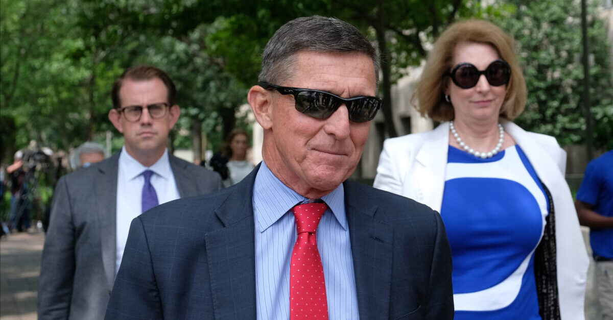 WASHINGTON, DC - JUNE 24: President Donald Trump's former National Security Adviser Michael Flynn leaves the E. Barrett Prettyman U.S. Courthouse on June 24, 2019 in Washington, DC. criminal sentencing for Flynn will be on hold for at least another two months.