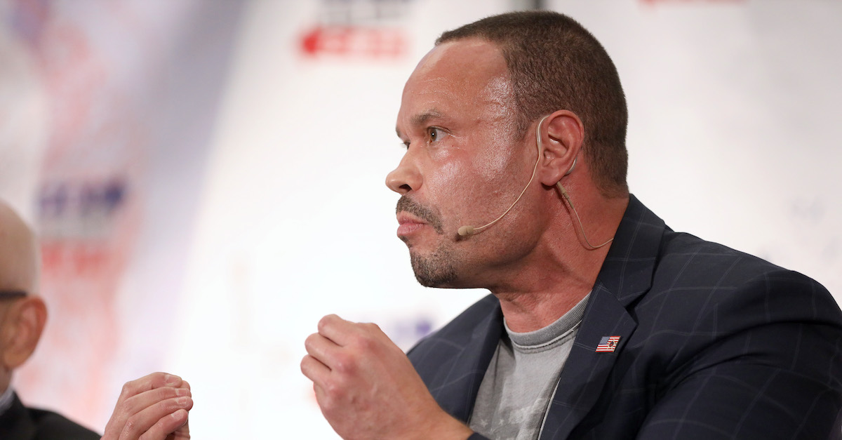 LOS ANGELES, CA - OCTOBER 20: Dan Bongino speaks onstage during Politicon 2018 at Los Angeles Convention Center on October 20, 2018 in Los Angeles, California.