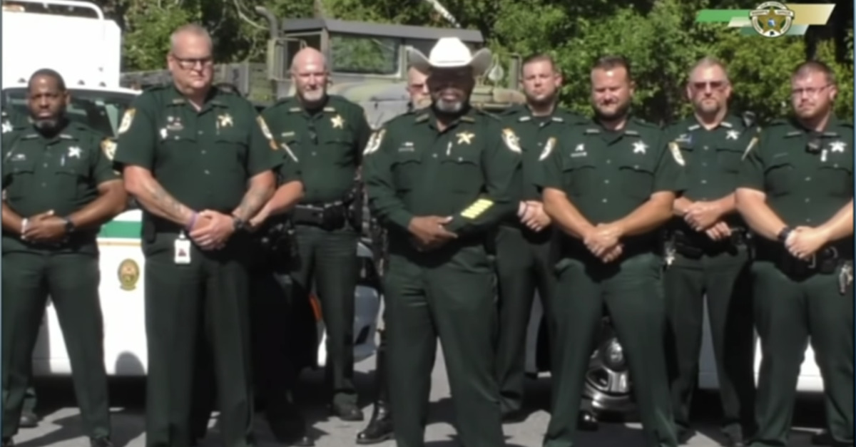 Florida sheriff removed following sex scandal investigation