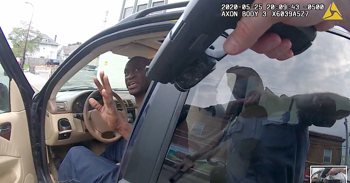 Police body camera video of Floyd arrest released to public
