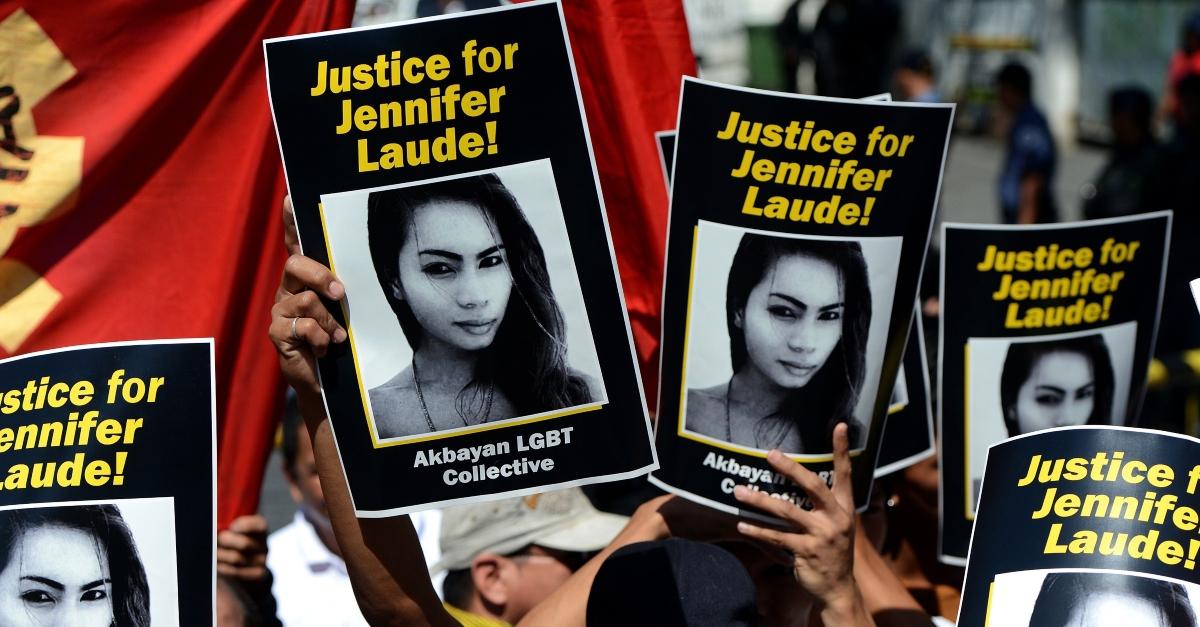 Philippine leader pardons US Marine in transgender killing