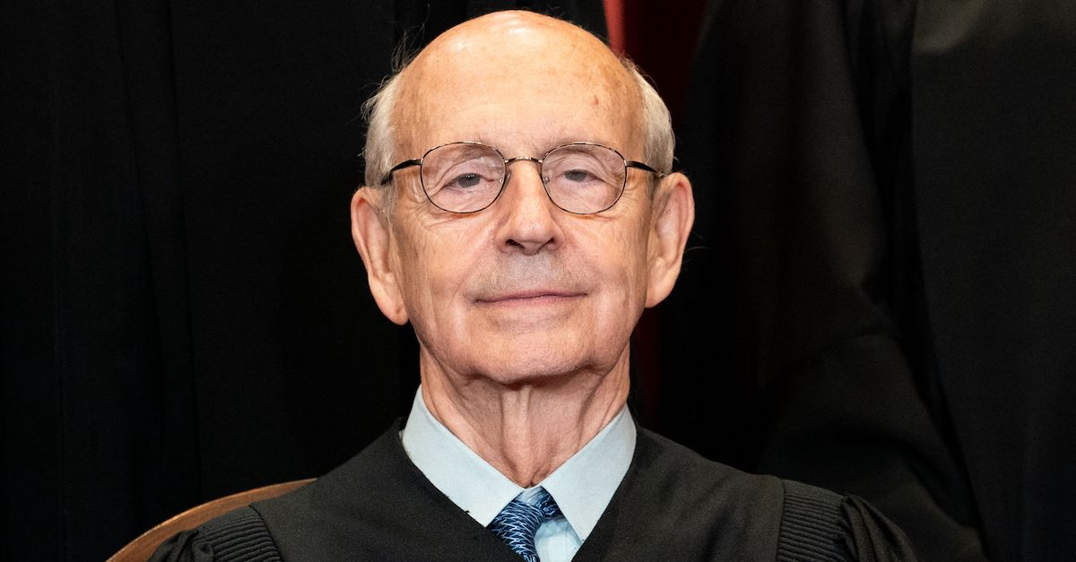 Associate Justice Stephen Breyer