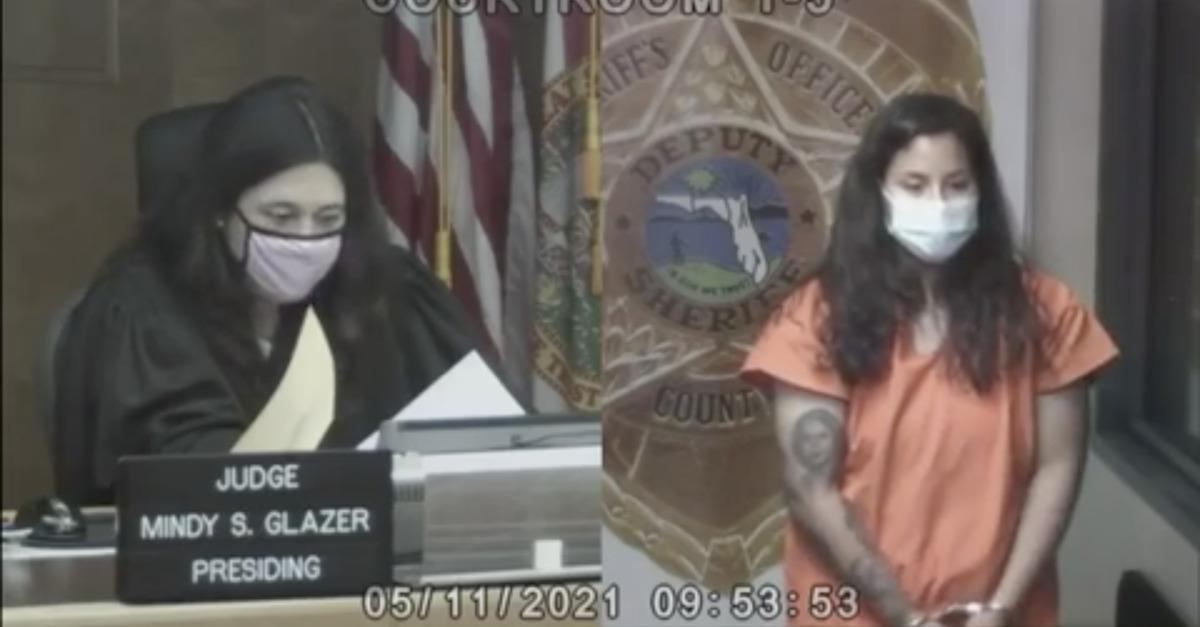 Audrey Francisquini in court