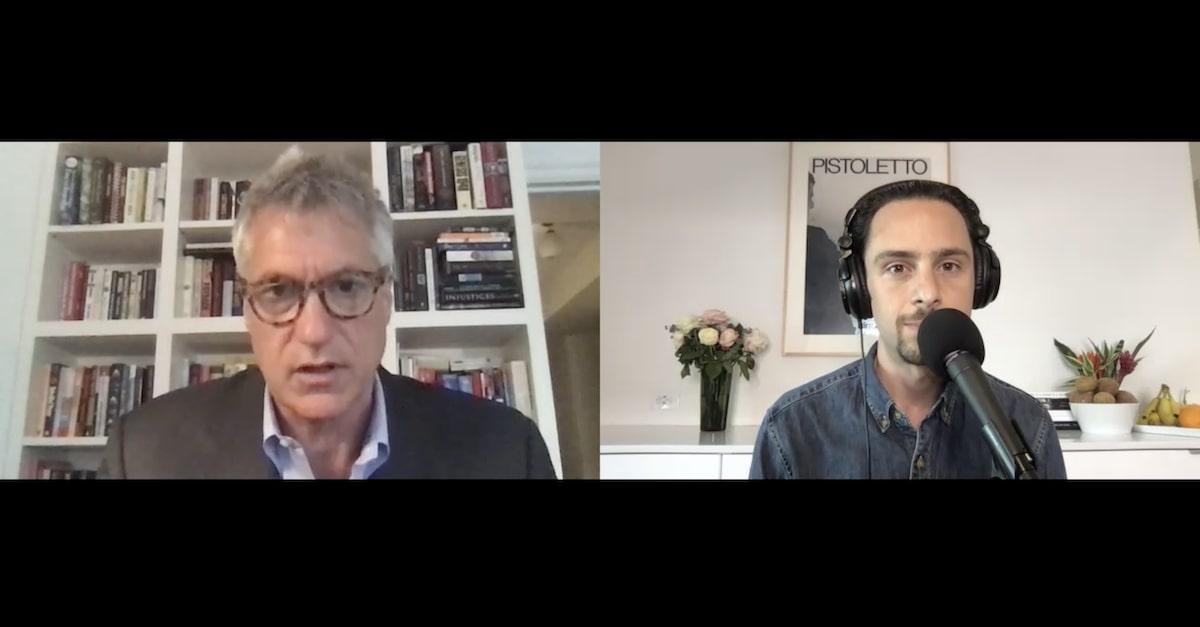 Steven Donziger speaks to Law&Crime's senior reporter Adam Klasfeld via Zoom