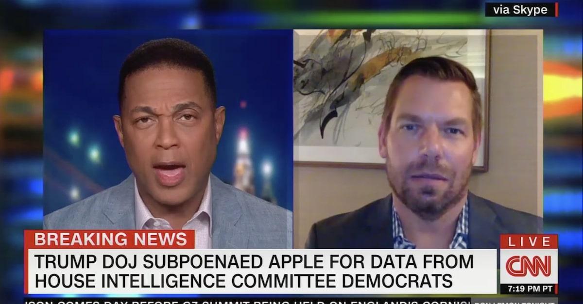 Eric Swalwell on CNN