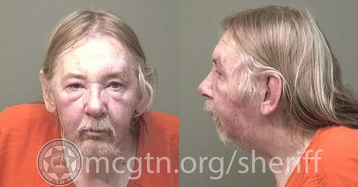 William Roger Campbell appears in a mugshot