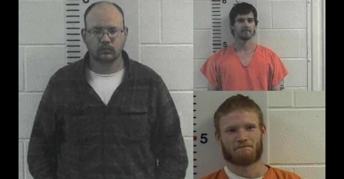 Alex Nathaniel Davis (left), Austin Johnson (top right), and Kaelin Hutchinson