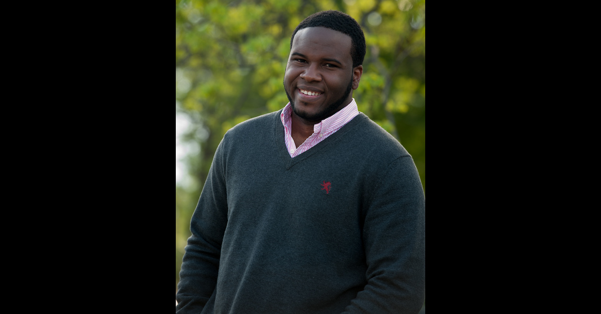 Botham Jean appears in a 2014 portrait released by Harding University, his alma mater.