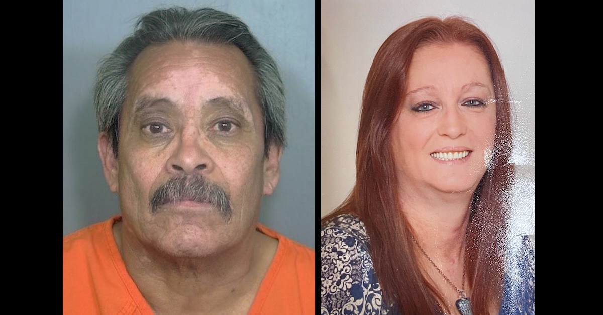 Jesus Romero and Edna Woodrum appear in images released by the Weld County, Colo. District Attorney's Office.
