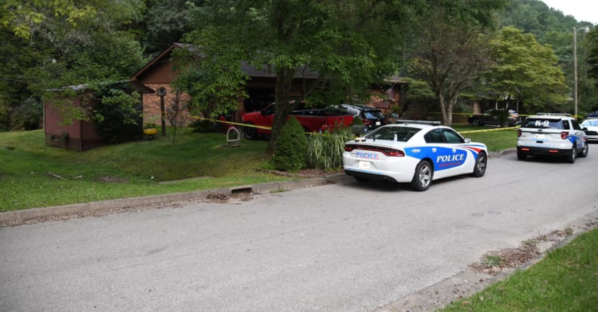 Police investigate the Sargent deaths, which they believe to be a murder-suicide
