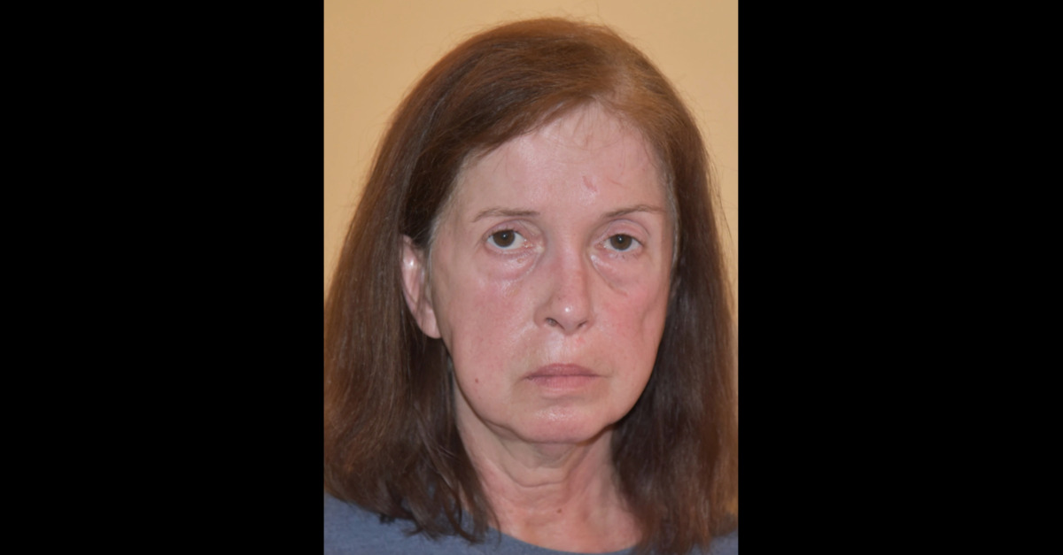 Sherry Lynne Fitzpatrick appears in a mugshot