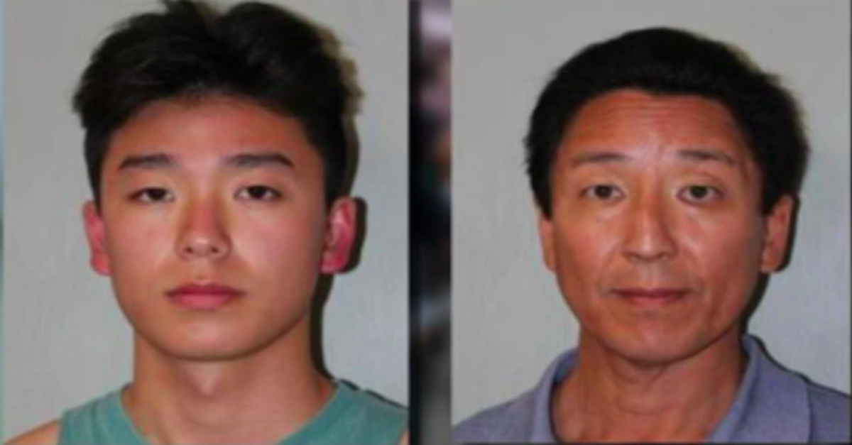 Trevor Chung and Norbert Chung, courtesy of the Hawaii Department of Corrections