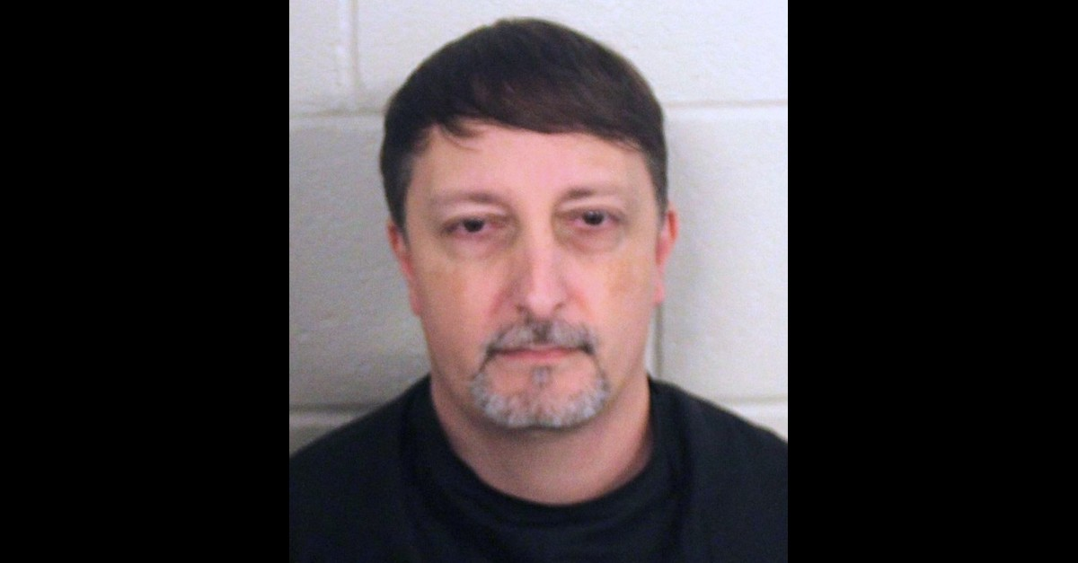 Christopher Matthew Codding appears in a Floyd County, Ga. Police Department mugshot.