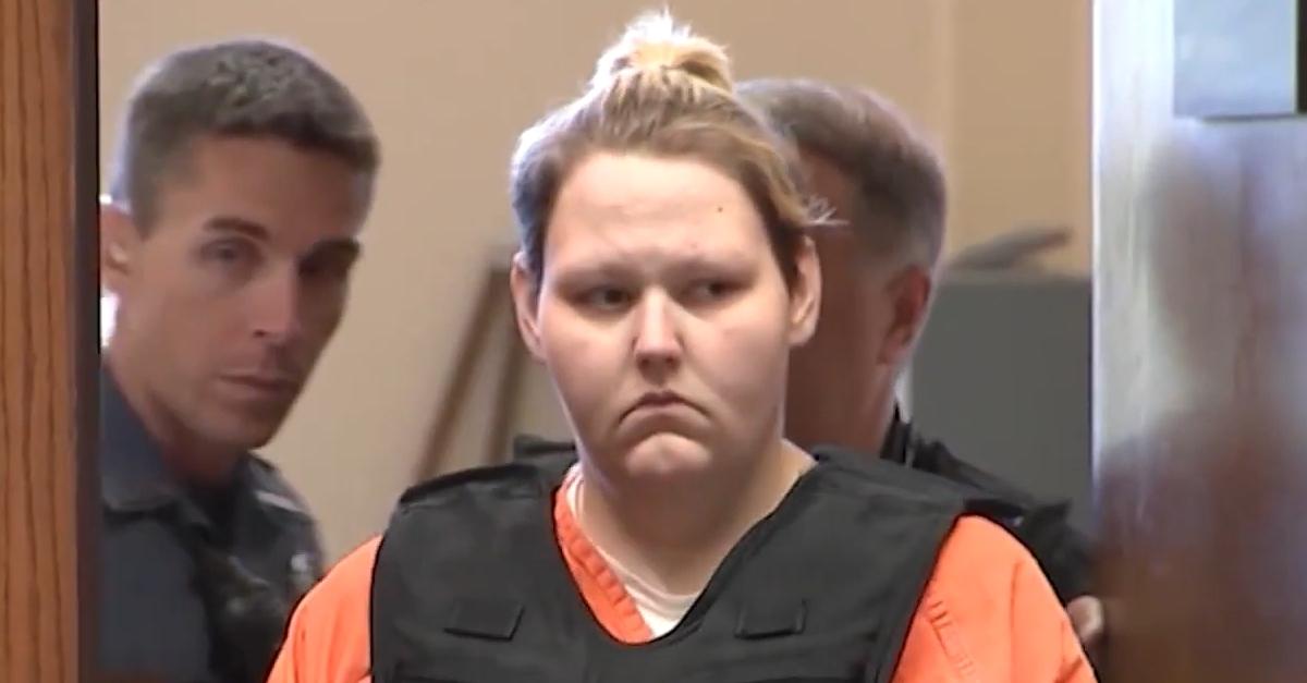 Krystal Daniels in court
